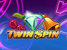 Играть в автомат Twin Spin в мобильном казино